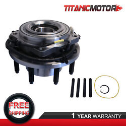 Left / Right Front Wheel Hub Bearing Assembly For 11-16 Ford F-350 F-250 W/ Abs