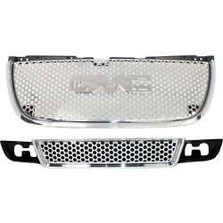 22761715 15264513 New Set Of 2 Grille Grill For Yukon Gmc Xl 1500 07-14 Pair