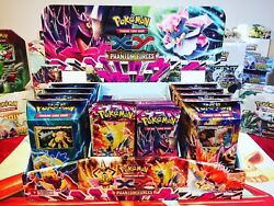 Pokemon Phantom Forces Launch Kit Very Rare 2 Booster Boxes And Much More