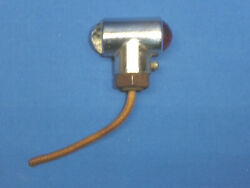 Nos Vintage Motorcycle Small Jeweled Fender Light Sct9