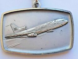 Vintage Saudi Arabia Saudia Airlines Special Edition Gift Keychain Medal 1980s
