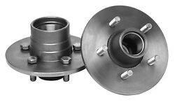37-48 Ford Front Hubs For Buick Aluminum Drums - 5 On 4.75 Bolt Pattern - 1135bd
