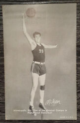 George Mikan 1948 Exhibits Rookie Card-rare-investment Card🔥minneapolis Lakers