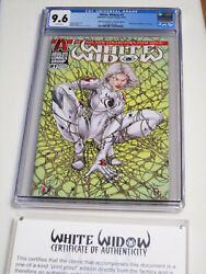 White Widow 1 One Of A Kind Print Proof Of Gold Spiderman Homage Edition 1/1