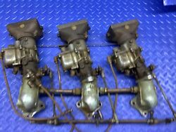 Kbl Tri Carburetor Set 1484 All Match Andrsquos For Chris Craft And Century Boats