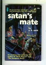 Satanand039s Mate By Smith Newsstand Lib 507 Rural Sleaze Gga Vintage Pb Bonfils