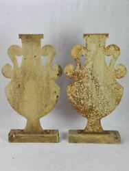 Antique French Signs From A Pottery Shop - Amphora Silhouettes