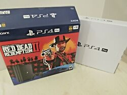 Ps4 Pro Red Dead Redemption 2 Box Only No Console, No System, No Game