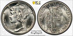 1945 10c Pcgs Ms 65 Cac Check Out The Bands On This Rare Fb Issue