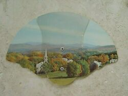 Hand Fan Collectible Tri Fold Advertising Paper Westmoreland Funeral Marion Nc