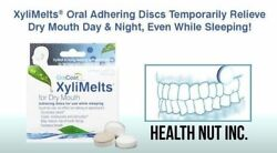 Xylimelts Dry Mouth Discs Mint-free 80 Count All-natural 3-pack=240 Discs