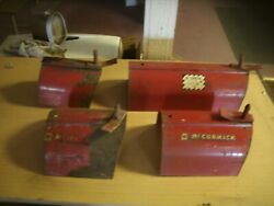4 Farmall Ih Tractor Implement Extendable Power Take Off Pto Shield Covers Mower