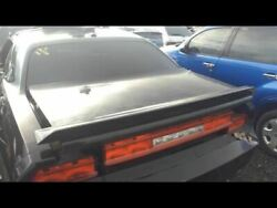 Trunk/hatch/tailgate Sxt With Spoiler Fits 08-14 Challenger 16764184