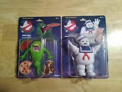 The Real Ghostbusters Kenner Stay Puft And Green Ghost Slimer 2020 Wave 1