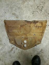 1948 Chevy Fleetmaster Upper Grille Baffle Lower Hood Latch Mounting Plate