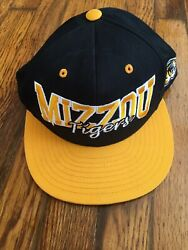 Rare Vtg Top Of The World Mizzou Tigers Snapback Hat Cap 90s Tow
