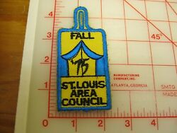 St. Louis Area Council Fall 1975 Collectible Patch O8