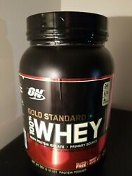 Optimum Nutrition Gold Standard 100 Whey Protein Isolate 2lbs Strawberry