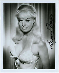 Autographed Bunny Yeager Self Portrait Pin-up Photograph Nos Hand Signed