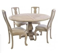 Sale 50 Off This Stunning Round Dining Table And 4 Chairs More Chairs Available