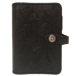Authentic Chrome Hearts Cemetery Cross Patch Cross Ball Button Notebook Cover