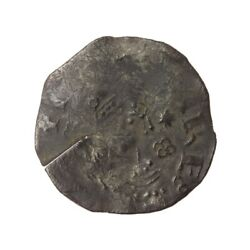 Henry I Silver Penny And039facing Bust With Quatrefoil/quatrefoil With Pilesand039 Mule -