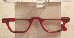 May Style 225 Color 813 Medium Half Eye 46m Reading Glasses New Store Stock