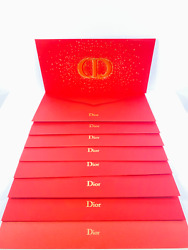 Dior Red Lucky Money Envelopes Chinese Lunar New Year Limited Vip 2021 Set Of 8