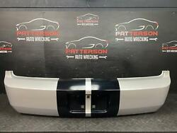2005 Ford Mustang Rear Bumper Cover Black Stripe W/ Satin Silver Paint Tl