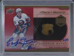 2018 Upper Deck A Piece Of History 1000 Point Club /10 Pat Lafontaine Auto Hof