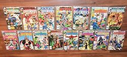 Lot Of 15 Bronze Age The Defenders Marvel Comic Books 110-124 Vintage 1982 Old