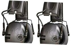Akt1 Sport Sound Amplification Earmuff, Electronic Hearing Protection For