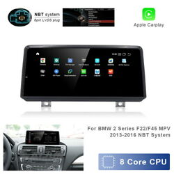 Android Car Gps Stereo Video 8-core Wireless Carplay Bt For Bmw 2 Series F22 F45