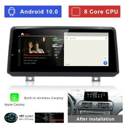 Android Car Gps Stereo 8-core Wireless Carplay For Bmw 2 Series F22 F45 Mpv 2013