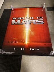 Mars Movie Banner Mint Condition This The Banner That Hangs Down In Theatre