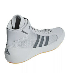 Adidas Hvc Wrestling Shoes Gray Mens Size 14.5 Lutte Ac7502 New