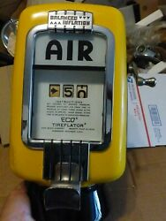 Eco Air Meter Tireflater Chevy Ford Man Cave Vintage 1933 Sinclair Texaco Shell