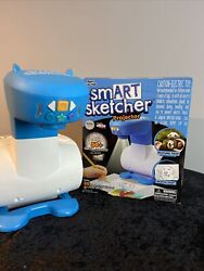 Smart Sketcher Projector Learn To Draw, Blue/white 2018 Toy Of The Year Works