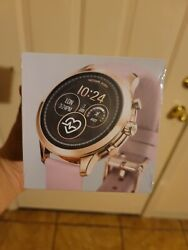Access Runway Smartwatch 41mm Rose Stainless Steel And Pink Silicone