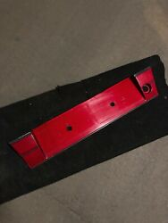 Bmw E34 Euro Red Heckblende License Plate Filler M5 540i 535i 525i