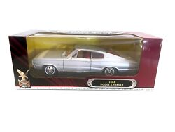 Road Signature 1966 Dodge Charger Silver 118 Diecast