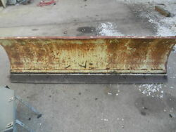 Fisher 6 1/2 Ft Full Hydraulic Plow Set Up