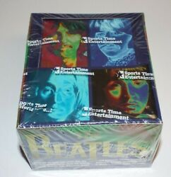 The Beatles Trading Cards Sports Time Entertainment 1996 Sealed Box