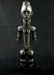 Art African - Statue Beast On Base Figure Dand039 Old - African Statue - 47 Cms