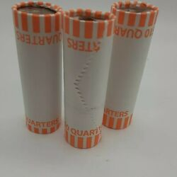 Bank Wrapped Roll 3 Quarter Rolls 120 Coins Search Circulated Treasure Hunt Mint