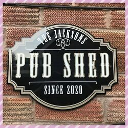 Personalised Home Garden Pub Shed Sign   Home Pub Sign   Garden Sign   Home Bar