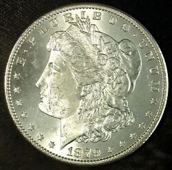 1879 S Morgan Silver Dollar ☆☆ Brilliant Uncirculated ☆☆ Great For Sets ☆☆ 141