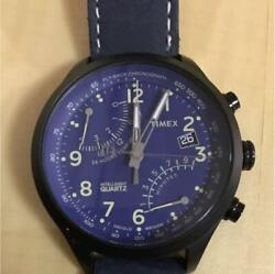 Timex Intelligent Racing Flyback Chronograph Purple Color Menand039s Watch