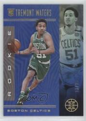 2019 Panini Illusions Rookies Trophy Collection Blue /25 Tremont Waters Rookie