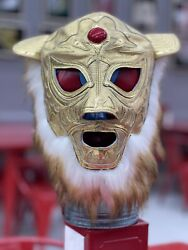 Mexican Wrestling Mask Lucha Libre Pro Grade 100 Leather Tigermask Mil Mascara